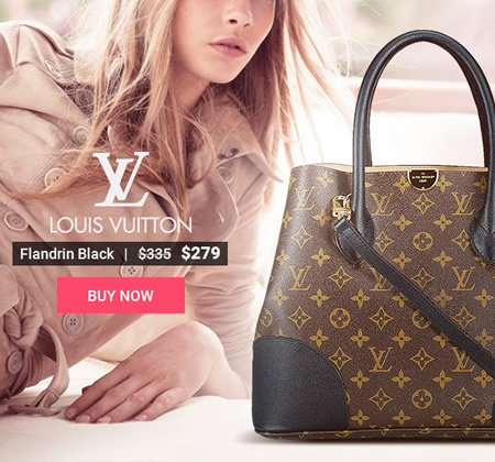 LV Replica Flandrin Black Bag